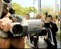 cameramen di Scientology all'attacco, (c) BBC
